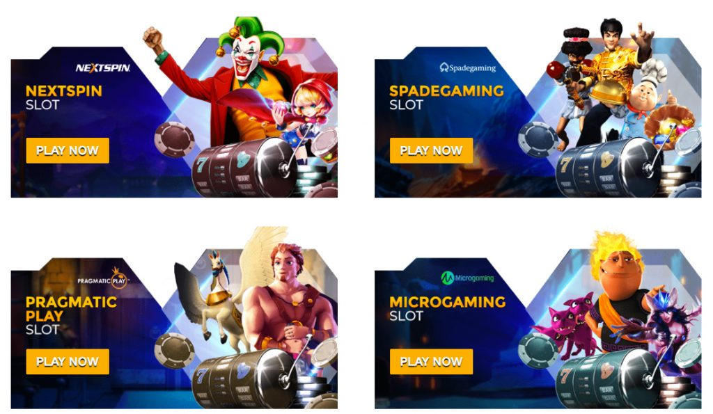 Slot game online casino aw8